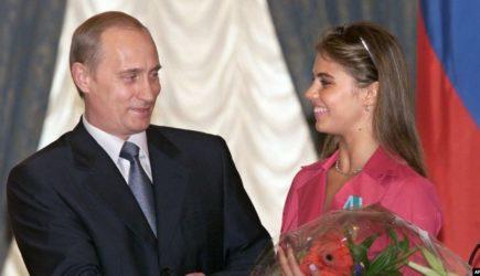 Алине Кабаевой приписывают роман в Президентом Российской Федерации Владимиром Путиным